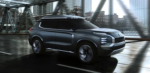 Mitsubishi Presents It's Latest Engelberg PHEV Concept