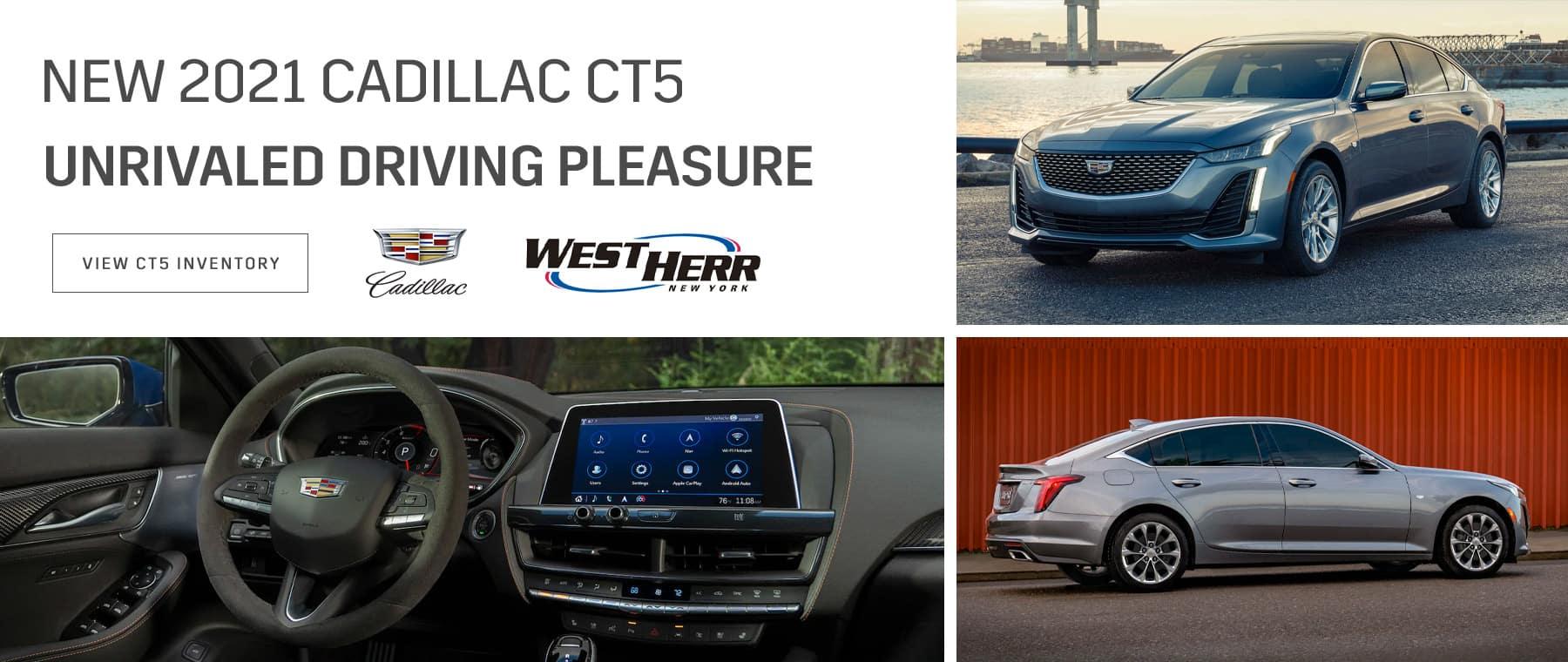 New 2021 Cadillac CT5
