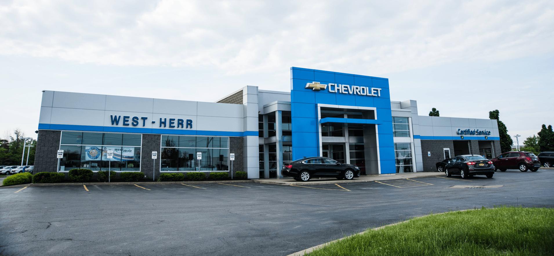 West Herr dealership outside view