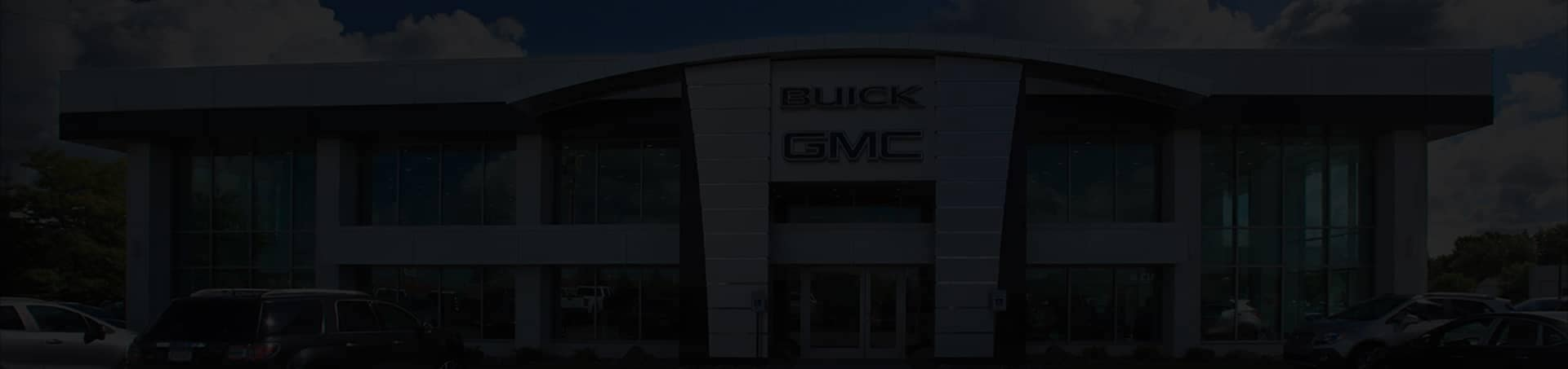 Buick GMC store front