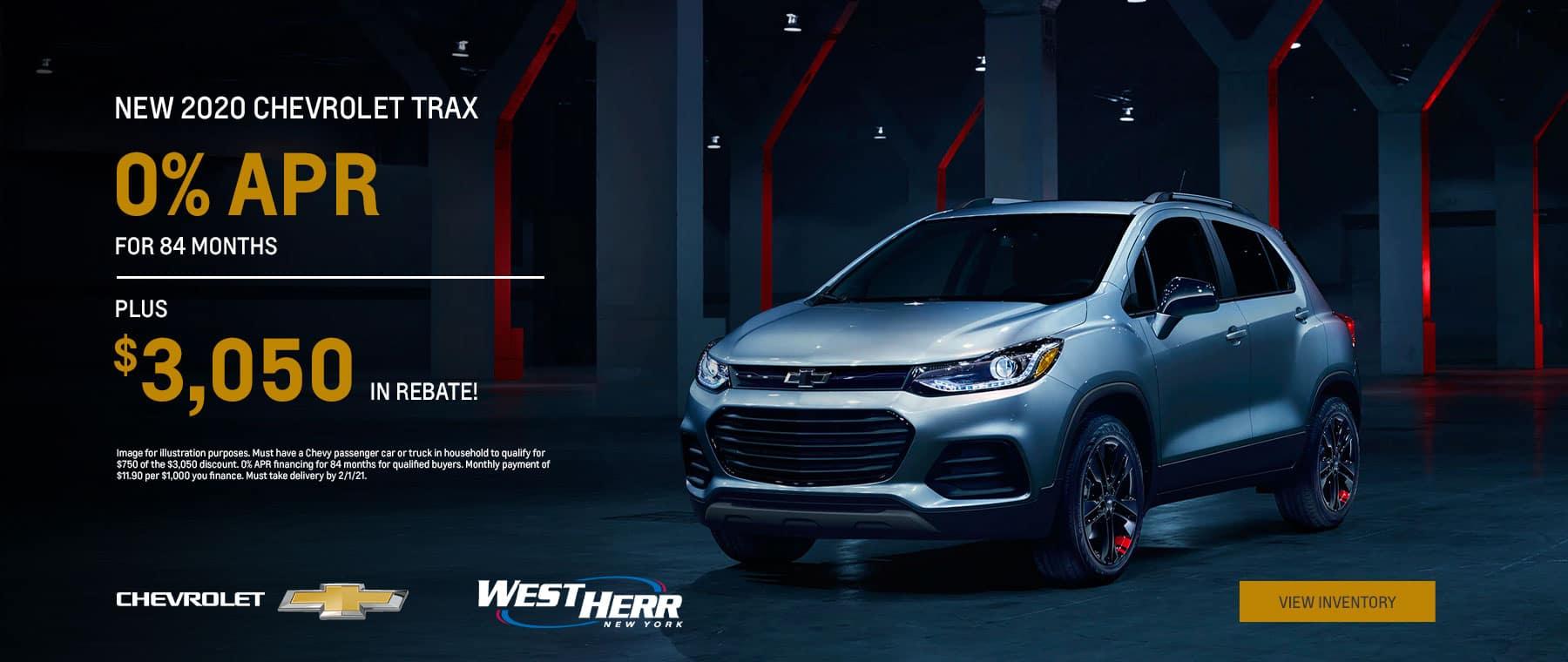 2020 Chevrolet Trax - Jan 2021