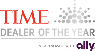 TIME Ally 2018 Dealer of the Year logo