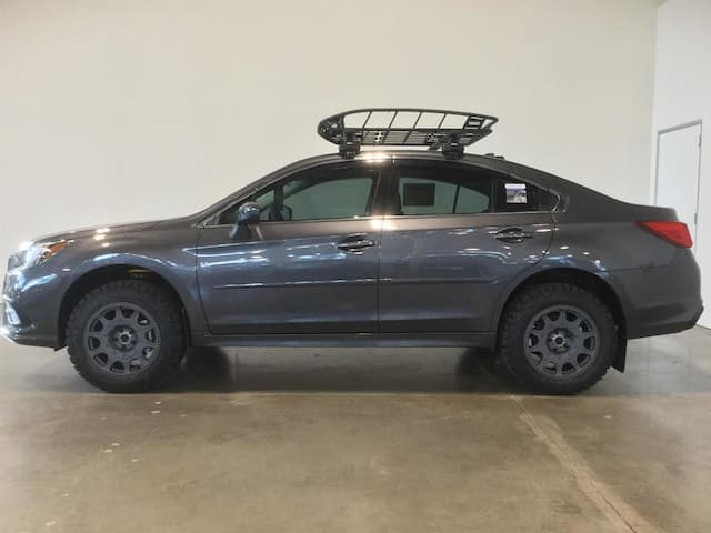 Lifted Legacy Sedan >> Our Newest Custom Subaru: A Lifted Legacy | Wilsonville Subaru