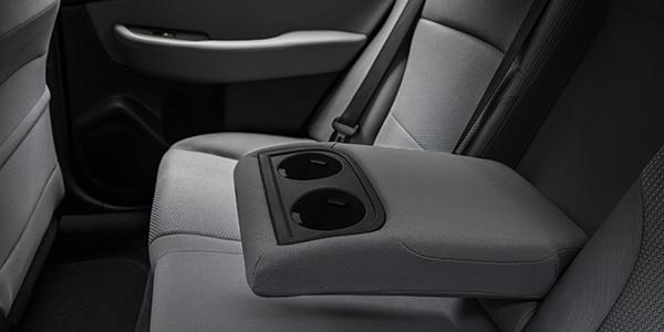 Legacy rear seat