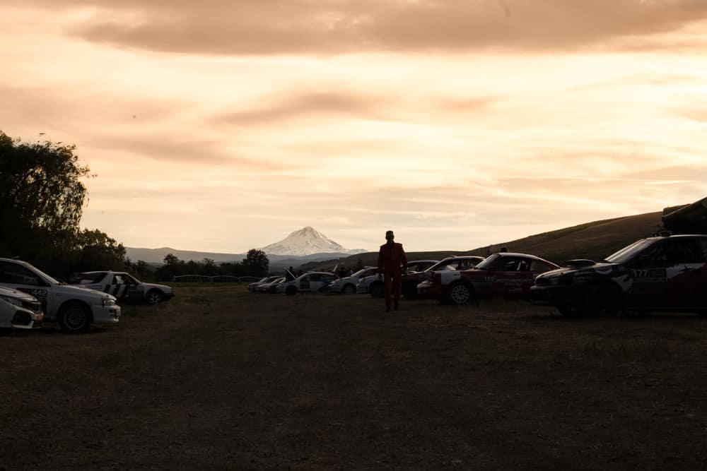 Oregon Trail Rally Sunset