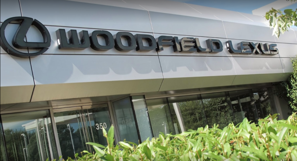 woodfield lexus dealership front