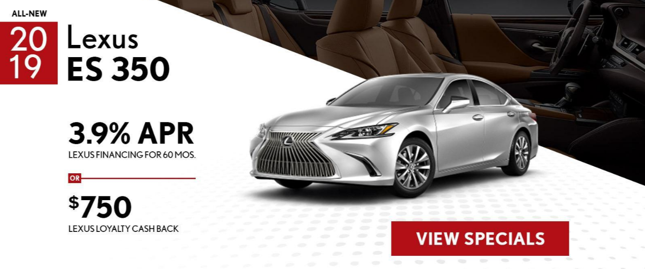 2019 Lexus ES350 Offer